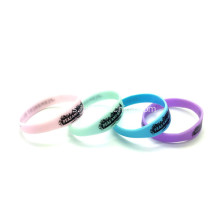 Promosi Figured Bercetak silikon Wristbands-202 * 12 * 2mm